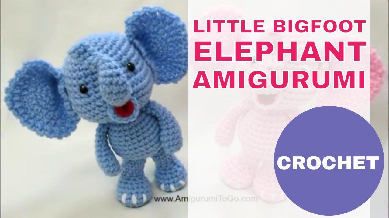 Crochet Amigurumi Elephant | 720x1280
