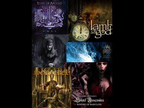 Best Metal/Rock Albums First Half of 2020 by RockandMetalNewz