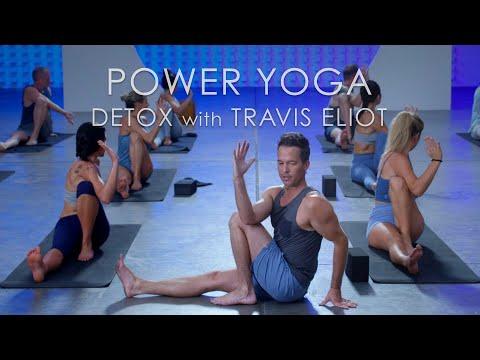 "FULL Power Yoga ""Detox"" Class (60min.) with Travis Eliot - Level Up 108 Program"