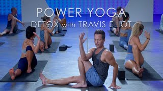 60min. Power Yoga 'Detox' Class with Travis Eliot  Level Up 108 Program
