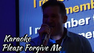 Please Forgive Me by Bryan Adams, Cover, Live @ Karaoke