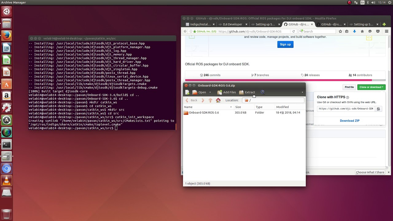 DJI _ Onboard SDK Setup on Ubuntu 14 04 and ROS Indigo