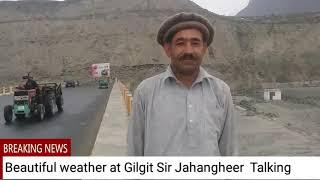 My Gilgit-Baltistan beautiful weather at Danyore old bridge Sir Jahngir And Dianat Dayanat