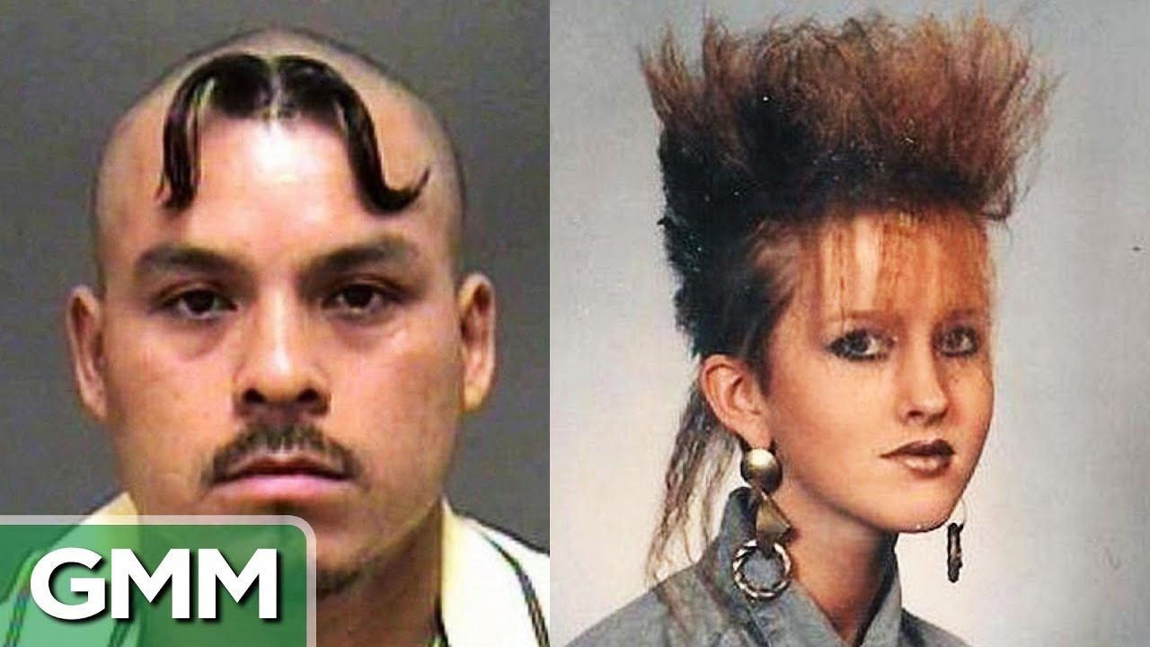 25 Worst Hairstyles Ever Youtube