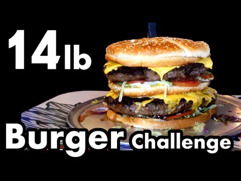 "14lb ""Big Mac"" Burger Challenge 