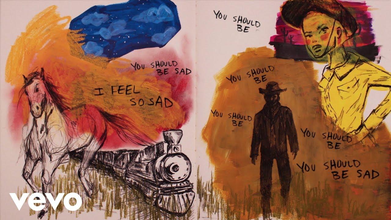 Halsey - You should be sad (Lyric Video)