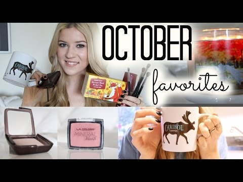 October Favorites 2013: Beauty, Food, Books & RANDOM ♡