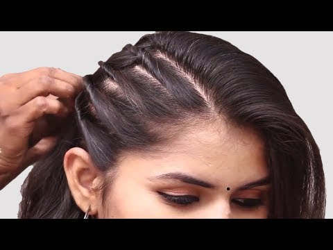 Easy Hairstyle for Wedding Guest || Simple Hairstyle || Hair Style Girl || Updo Hairstyles thumbnail