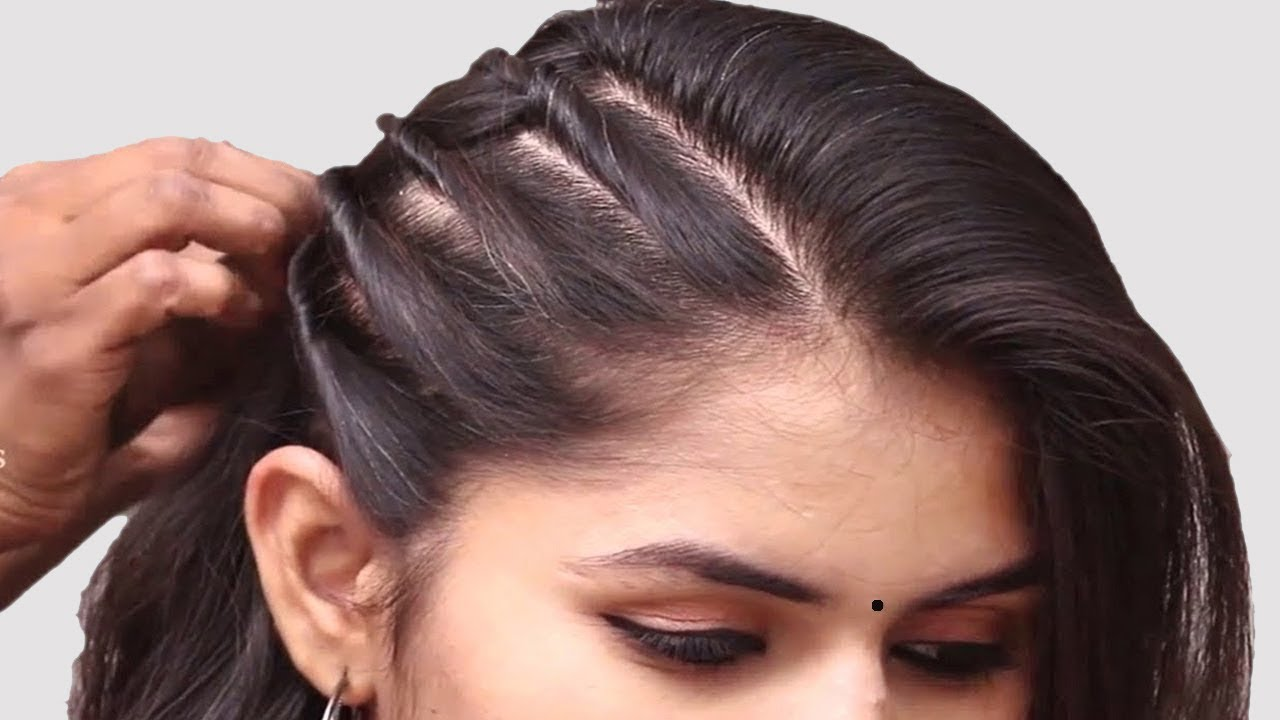 easy hairstyle for wedding guest || simple hairstyle || hair