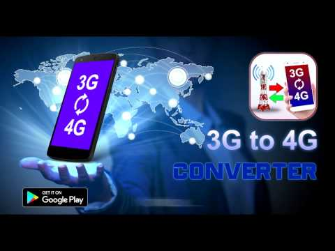 3G 4G Converter Simulator Android application