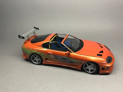Tamiya/USCP:  The Fast And The Furious Toyota Supra Part 7