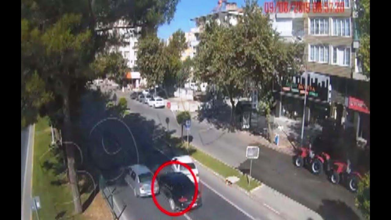Adıyaman'da Kazalar Mobese Kameralarında