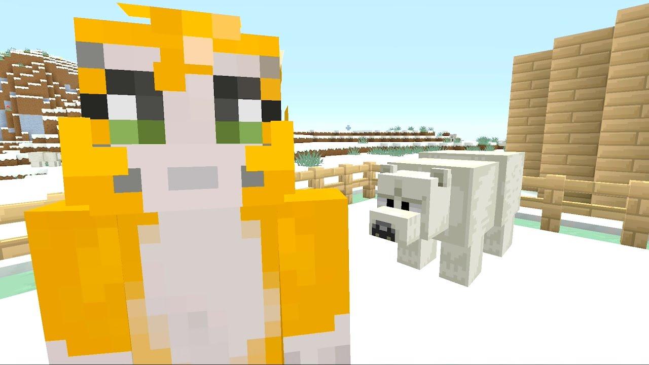 how to train a polar bear in minecraft