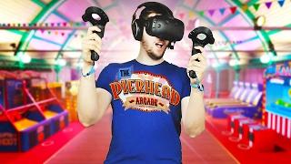 Virtual Reality Arcade! - Pierhead Arcade Gameplay - HTC Vive VR