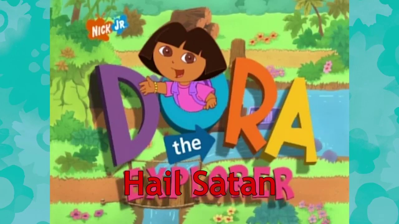 Dora the explorer reversed with lyrics