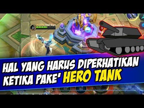 Hal-hal yang harus diperhatikan ketika Menggunakan HERO TANK Supaya Menang | Mobile Legends