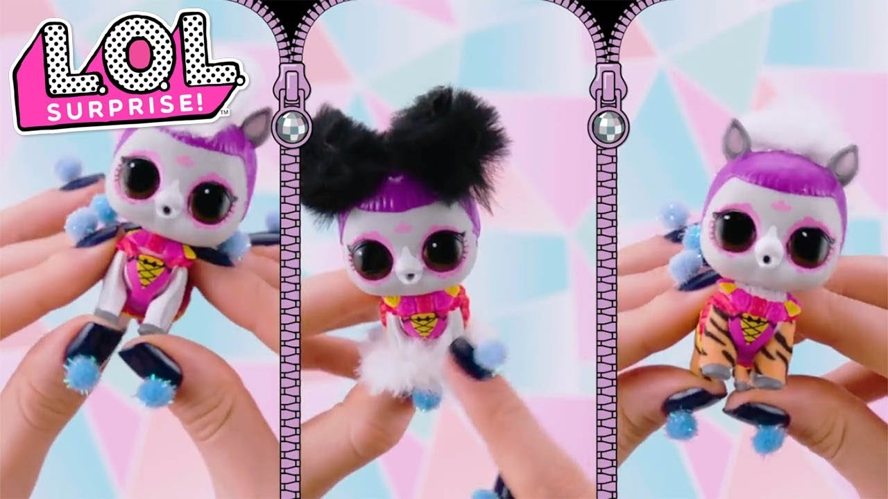 How Do You Unbox Fluffy Pets? | LOL Surprise Pets