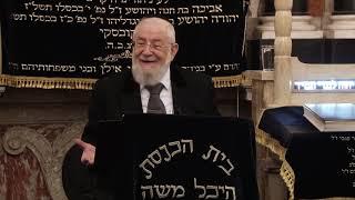 """הרב ישראל מאיר לאו יח' שבט תשע""""ט- 23/01/19 Rabbi Israel Meir"""