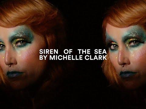 Siren of the Sea I MAC Halloween Tutorial