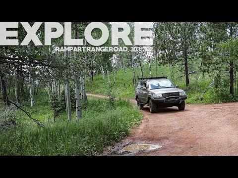 We Explore Rampart Range Rd (FS 300), 303, And 302 Near Colorado Springs