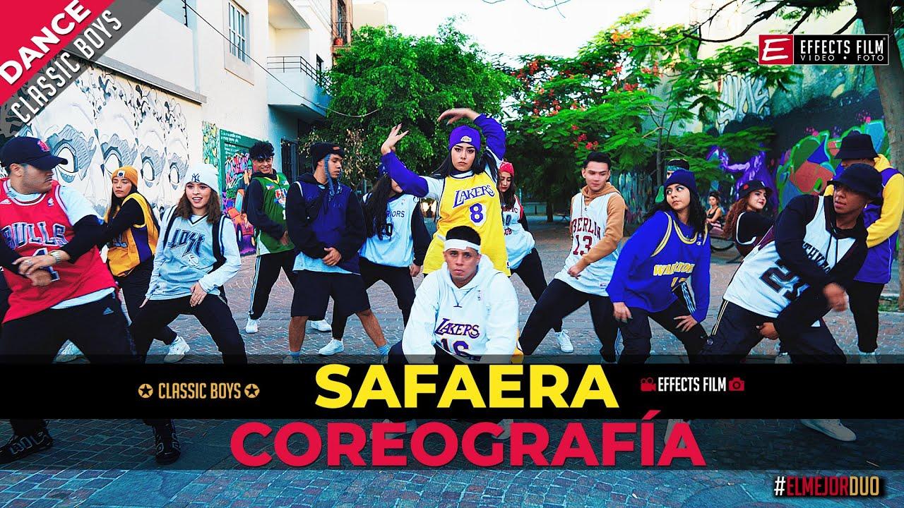 SAFAERA COREOGRAFÍA  ✪ CLASSIC BOYS ✪ ►EFFECTS FILM
