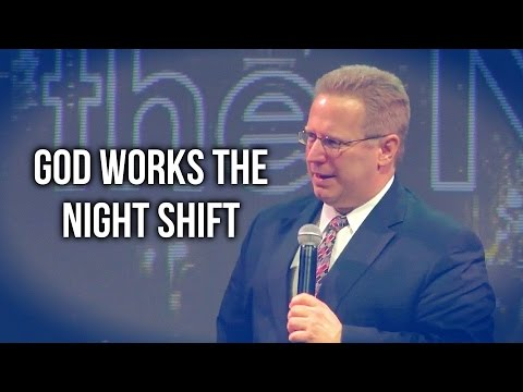 """God Works the Night Shift"" – Pastor Raymond Woodward"