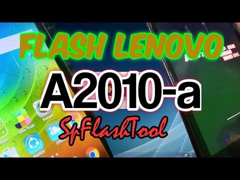 CARA FLASH LENOVO A2010-a FLASHTOOL