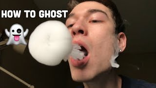 Vape Trick Tutorial - How to: Ghost Inhale