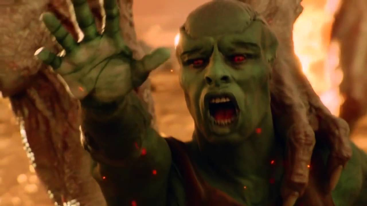 Supergirl Extinction Of The Green Martians Youtube