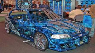 Tricked out Honda Ricing (Honda gets you laid) LOL