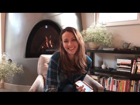 Amy Acker  'Q&A Livestream'  1072017