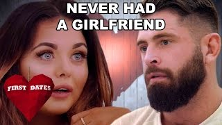 Zapętlaj Scarlett Moffatt's Date Has Never Had A Girlfriend! | Celebrity First Dates | First Dates