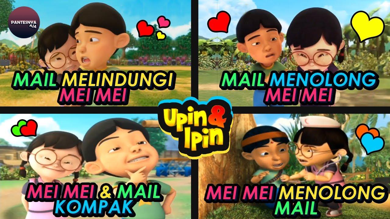 20 Momen Romantis Dan Lucu Mail Dan Mei Mei (Upin & Ipin)
