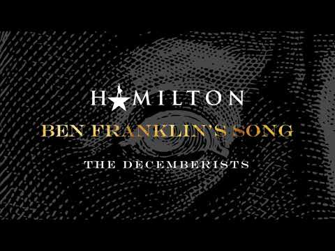 The Decemberists - Ben Franklin's Song (from Hamildrops) [Official Audio]
