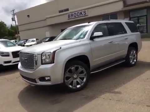 New 2015 GMC Yukon 4WD 4dr Denali in Brooks AB - YouTube