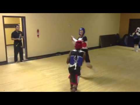 30 sec Olympic Style Sparring at Eternal Martial Arts
