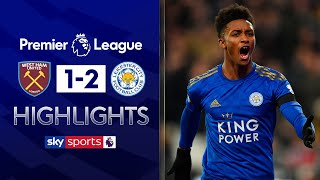Pellegrini sacked after Leicester defeat! | West Ham 1-2 Leicester | Premier League Highlights