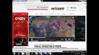 Halo Spartan Strike Gameplay-PC