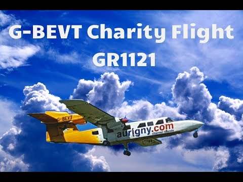 My G-BEVT retirement flight, May 28th 2017, GR1121