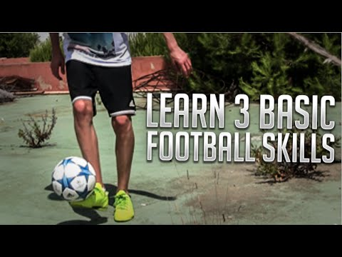 Learn 3 BASIC Freestyle Football Skills To Impress Your Friends - Futsal/Street Soccer Tutorial!