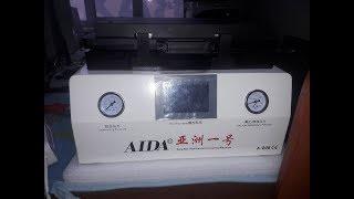 Вакуумная станция для работы с LCD модулями AIDA A-808