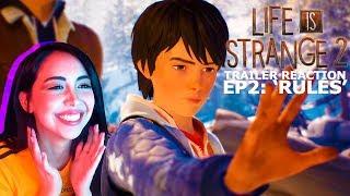 LIFE IS STRANGE 2 | Episode 2 RULES Trailer Reaction
