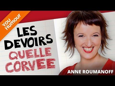 ANNE ROUMANOFF - Les devoirs
