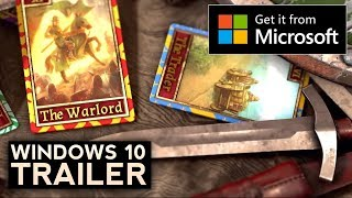 Stronghold Kingdoms – Windows 10 Trailer