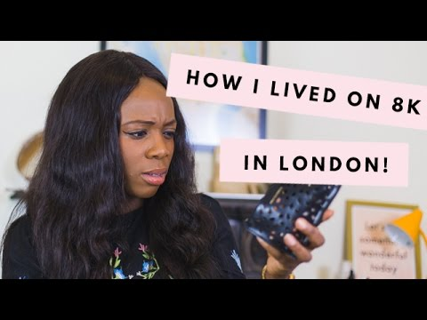 London Money Saving Tips/Hacks + How I Lived off £8000 | Kristabel