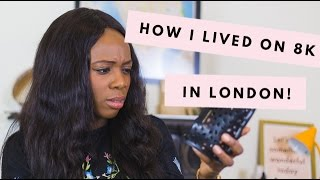 London Money Saving Tips/Hacks + How I Lived off £8000