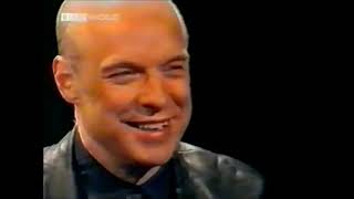 Peter Dobbie interviews Brian Eno for HARDtalk in 1998