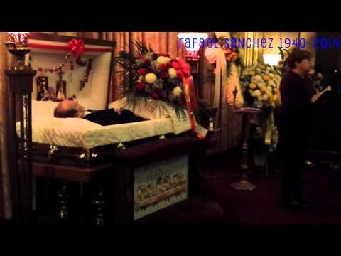 Velatorio del cuerpo de Rafel Sánchez en New York