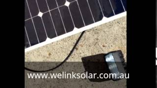 60W Semi-flexbile solar panel without battery supporting .