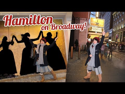 HAMILTON on Broadway NYC | Vlog & Review